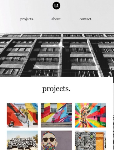 Creative Arts Website Design