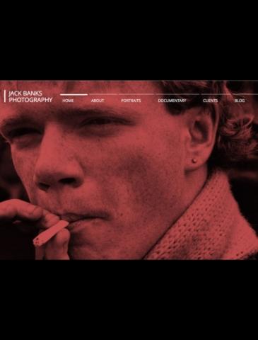Photography Website Design